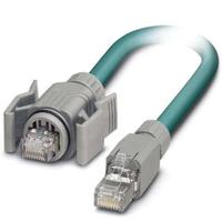 Phoenix 1412888 Netzwerkkabel 2 m Grau
