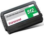Transcend IDE FLASH modul 512MB 44pin Vertical + Kontroler SMI