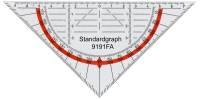 Geometriedreieck 16 cm flexibel & antireflex