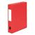 5 ETOILES Bo�te de classement � �lastique en carte lustr�e 7/10, 600g. Dos 60mm. Coloris rouge.