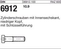 DIN6912 M12 x 30 mm Stahl 10.9