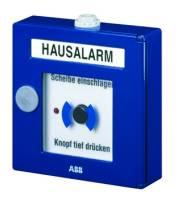 Handmelder Hausalarm Kunststoff, LED, bl