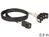 SAS Kabel HD x 4 SFF 8643 Stecker auf 4 x SATA 7 Pin Buchse, 0,5m, Delock® [83392]