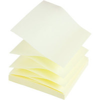 Haftnotiz Z-Notes, 76 x 76 mm, pastellgelb, 100 Blatt