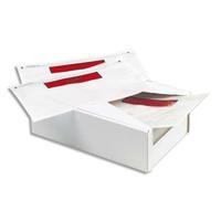 PERGAMY Boîte de 250 Pochettes d'expédition document ci-inclus - Format C5 : 225 x 165 mm transparent