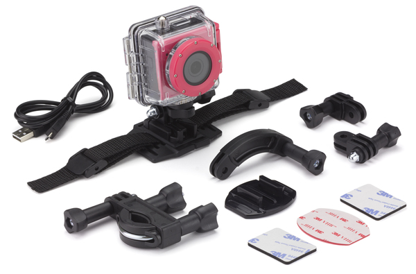 Kitvision Splash Full HD akció kamera – rózsaszín - KVSPLASHPI