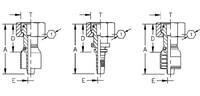AEROQUIP 1S16DS12 DKO 20S ÜM M30x2 Dichtkegel/Dichtkopf mit ÜM und O-Ring