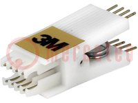 Messclip; DIP; PIN:8; R. Kontakt-:2,54mm; Reihen- Abst:7,62mm
