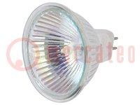 Leuchtmittel: Halogen; 12VAC; 35W; GU5,3; 36°