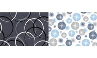 """SUSY CARD Geschenkpapier """"Circles blue"""", auf Rolle (11416849)"""