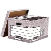 Bankers Box by Fellowes System Large Storage Box W380xD430xH287mm Ref 01810-FF [Pack 10]