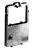 Farbband (Drucker) Gr. 668, Nylon HD, Re-Ink, 1,8 m x 8 mm, schwarz