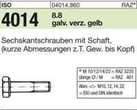ISO4014 M16x80