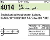 ISO4014 M16x150