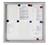 Legamaster Schaukasten PREMIUM Whiteboard für den Außenbereich, 9x DIN A4