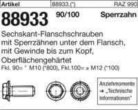 6kt.-Flanschschrauben M10x22