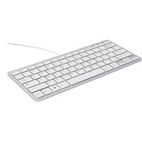 R-Go Tools Keyboard - Cable Connectivity - White - USB Interface - Ita