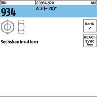 DIN 934 A 2 -70 M 6 A 2 K