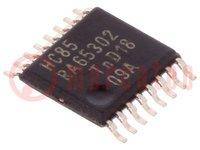 IC: digitális; 4bit, komparátor; Sorozat: HC; SMD; TSSOP16; 2÷6VDC