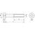 Skizze zu ISO4762 12.9 M12x130 blank Zylinderschraube mit Innensechskant (DIN 912)