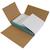 Wellpapp-Kreuzverpackung, Abm (LxBxH): 430x310x10-120mm, Qual. 1.2B