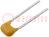 Condensator: keramisch; MLCC, monolitisch; 10nF; 50V; X7R; ±20%; THT