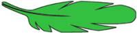 Kalligraphie - Tinte grün