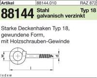 Starke Deckenhaken 140x8,9x22