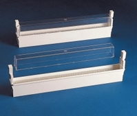 Slide storage system-ABS Description Dust cover for 9.161 279 Width 35 mm Length 345 mm Height 40 mm