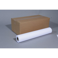 Inkjetpapier CAD, 914mmx50m, 80g/m², weiß, opak, matt, unbeschich.