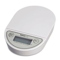 Letter Scales MAULoval with battery, 2000 g