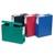 VIQUEL Boite de classement MAXIDOC, en polypropylène 12/10ème, dos de 12cm, coloris assortis opaque