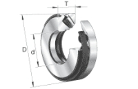 FAG 29234-E1-MB Axial-Pendelrollenlager 240 / 170 x 42 mm