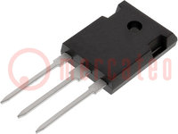 Transistor: NPN; bipolaire; 60V; 15A; 90W; TO247-3