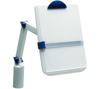 Universal Copy Holder with Extended Swivel Arm and Clamp