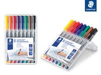 Lumocolor® non-permanent pen 316 Non-permanent Universalstift F STAEDTLER Box mit 8 sortierten Farben