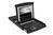 Konsole mit 48,3cm ( 17') TFT, deutsche Tastatur, Single Port, touchpad, 1U RAL9005, schwarz, Digitus® [DS-72011GE]