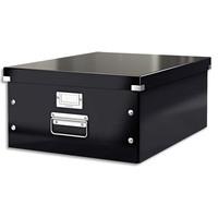 LEITZ Boîte CLICK&STORE L-Box. Format A3 - Dimensions : L36,9xH20xP48,2cm. Coloris noir.