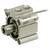 SMC CDQ2B32TF-5DZ Compact cylinder ø:32 mm Stroke:5 mm