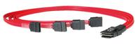 ROLINE Mini SAS - 4x SATA Kabel, 0,5 m