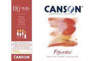 """CANSON Bloc papier dessin """"Figueras"""", 190 x 250 mm, 290 g/m2 (5297796)"""