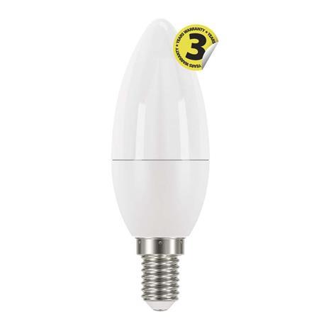EMOS LED žárovka Classic Candle 6W E14 teplá bílá 1525731201