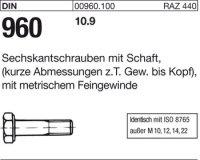 DIN960 M12x1,5x90