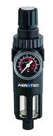 "Aerotec AEROTEC Filter Druckregler 1/2"" Druckminderer Manometer Kompressor #2010213"