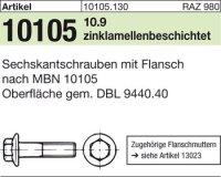 Sechskantflanschschr. M16x1,5x55