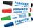 Flipchart Marker, 2-6, je 1x rot, grün blau und schwarz, 4 Stück