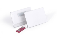 Durable 811719 badge et porte-badges Badge nominatifs PVC 25 pièce(s)