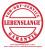 Lebenslange Garantie Logo
