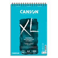 CANSON Bloc de 30 feuilles de papier dessin XL AQUARELLE 300g grand format A4