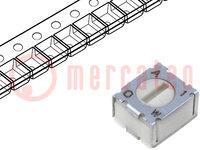 Potentiometer: für den Einbau; 1-Drehung, liegend; 200Ω; 100mW